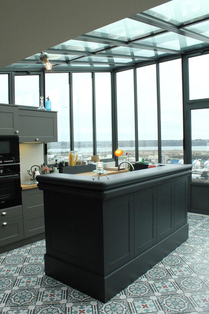 projet n 7 r novation et extension d une maison brest atypique architecte d 39 interieur brest. Black Bedroom Furniture Sets. Home Design Ideas