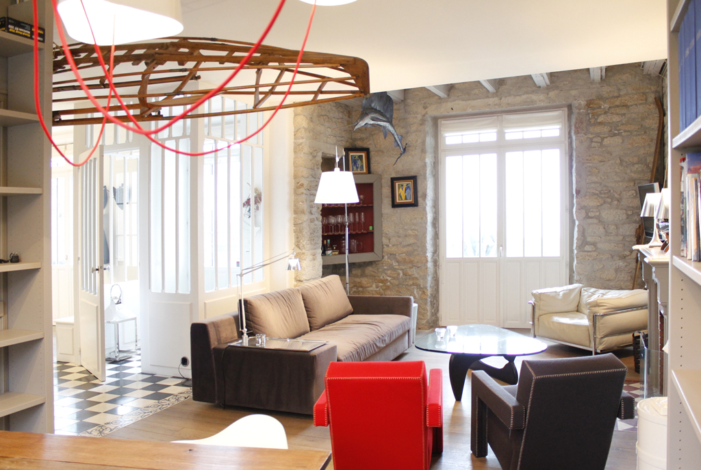 Projet n 12 r novation d une maison sur la c te nord atypique architecte d 39 interieur brest - Architecte d interieur metier ...
