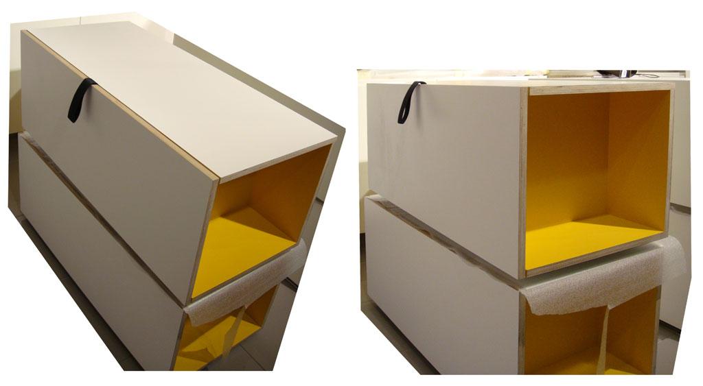 meublse-jaunes-empilés