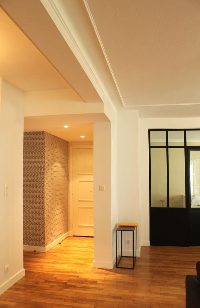 projet n 25 r novation d un appartement brest. Black Bedroom Furniture Sets. Home Design Ideas