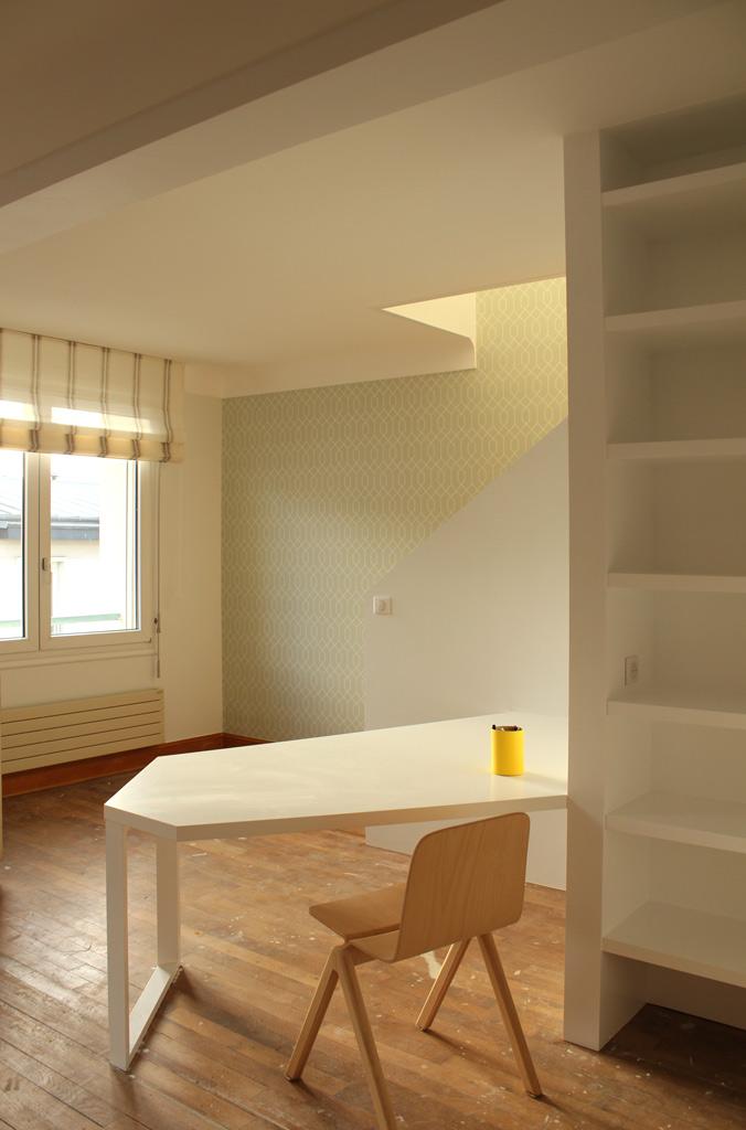 projet n 24 r novation d un appartement brest atypique architecte d 39 interieur brest. Black Bedroom Furniture Sets. Home Design Ideas