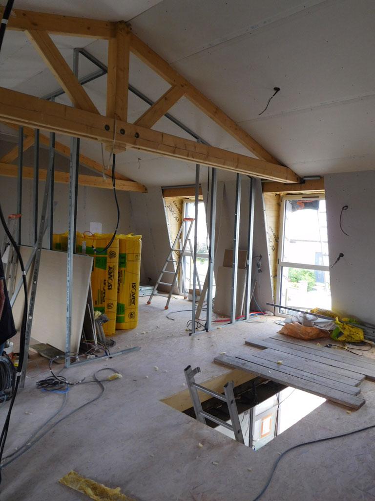 Projet N 27 R Novation Et Rehausse D Une Maison Brest