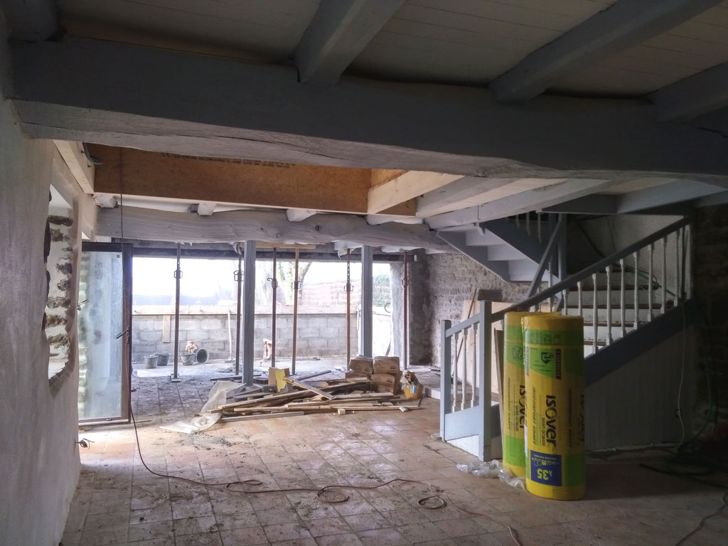 projet n 31 r novation compl te d une maison porspoder atypique architecte d 39 interieur. Black Bedroom Furniture Sets. Home Design Ideas