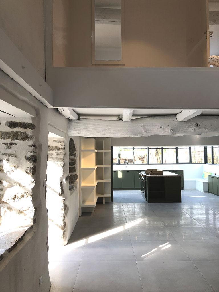Architecte D Intérieur Brest projet n°31 - rénovation complète d'une maison à porspoder